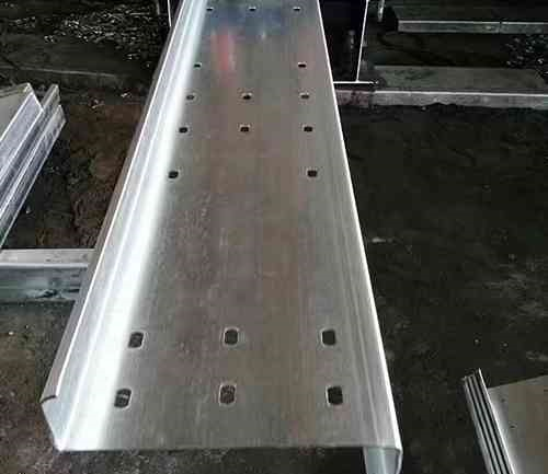 The steel structure of z profile steel